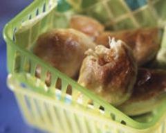 Recette petits pâtés à la morue et aux raisins