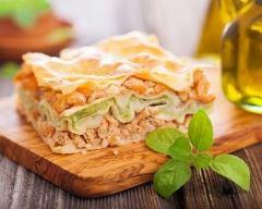 Recette lasagnes aux crevettes et brocoli