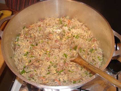 Recette de riz cantonais amélioré