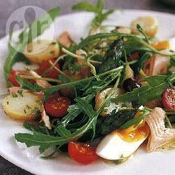 Recette salade printanière à la truite fumée – toutes les recettes ...