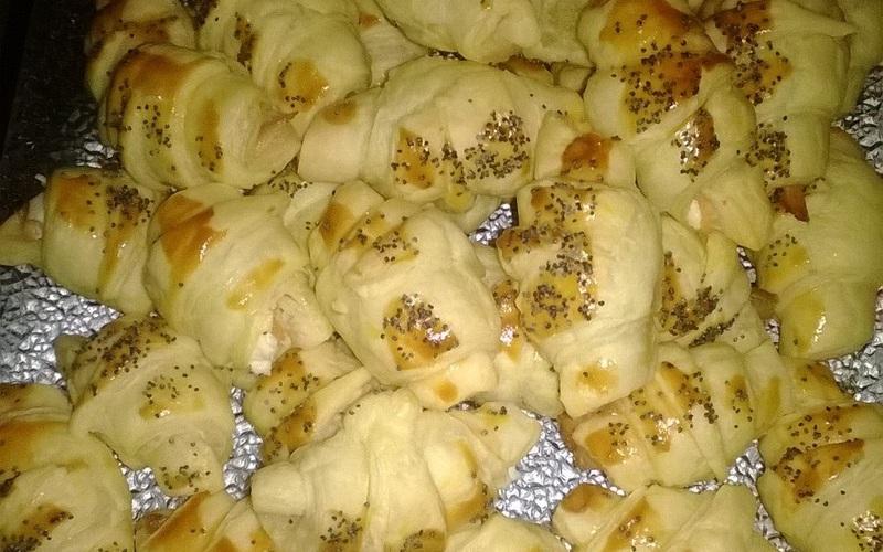 Recette croissants au saumon économique et rapide > cuisine ...