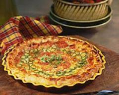 Recette tarte feuilletée aux courgettes et à la tomate