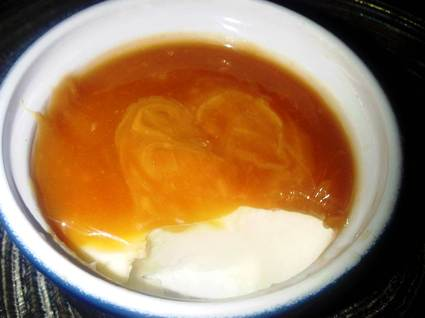 Recette de panna cotta au caramel au beurre salé