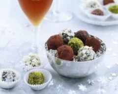 Recette truffes au chocolat en habit divers