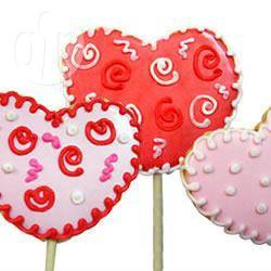 Recette biscuits sucettes pour la saint valentin – toutes les recettes ...