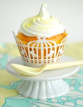 Cupcake au citron, glaçage citron pour 6 personnes