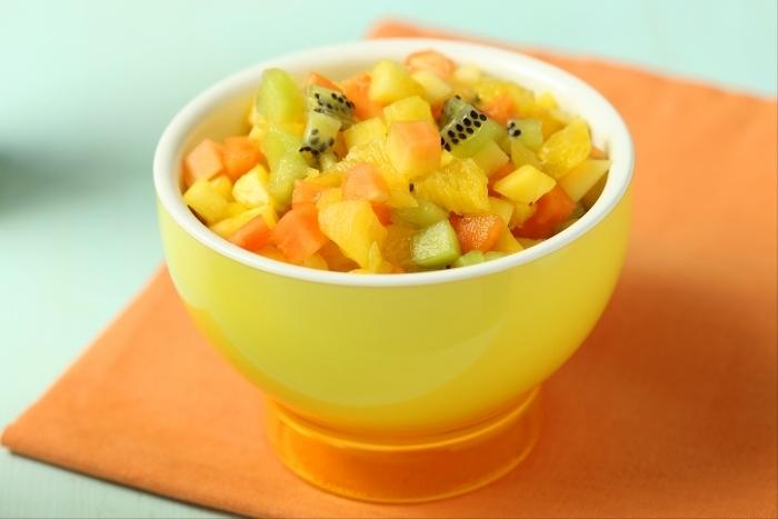 Recette de salade de fruits exotiques facile et rapide