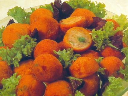 Recette de boulettes mixtes aux petits pois
