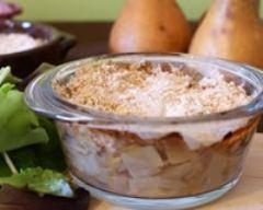 Recette crumble d'endives, poires, noix et chèvre