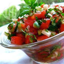 Recette chutney frais aux tomates cerise et concombre – toutes les ...