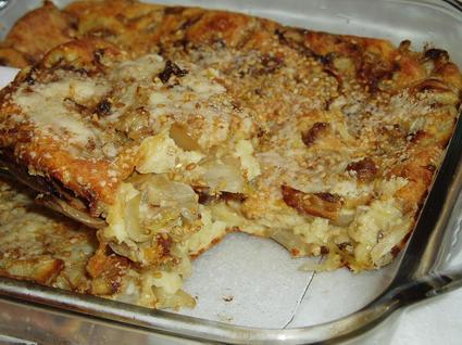 Recette de clafoutis aux endives et parmesan