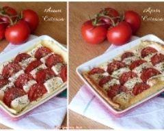 Recette tarte aux tomates et à la mozzarella