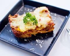 Recette lasagnes viande et chair à saucisse
