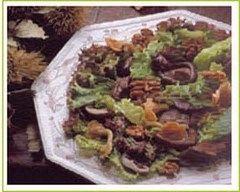 Recette salade de gésiers et champignons des bois