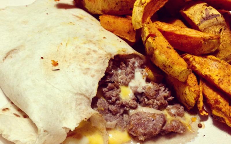 Recette tacos & frites de patates douces économique et rapide ...