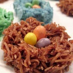 Recette nids de pâques chocolat coco – toutes les recettes allrecipes