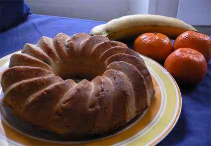 Recette de couronne dorée aux fruits et aux fruits confits