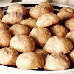 Recette biscuits mexicains à la cannelle (polvorones de canele ...