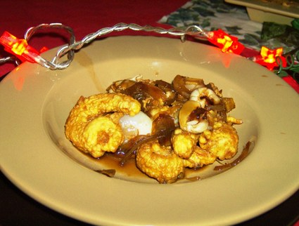 Recette de beignets de crevettes aux lichis