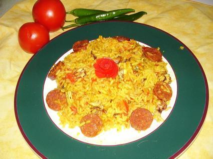 Recette de riz aux fruits de mer express