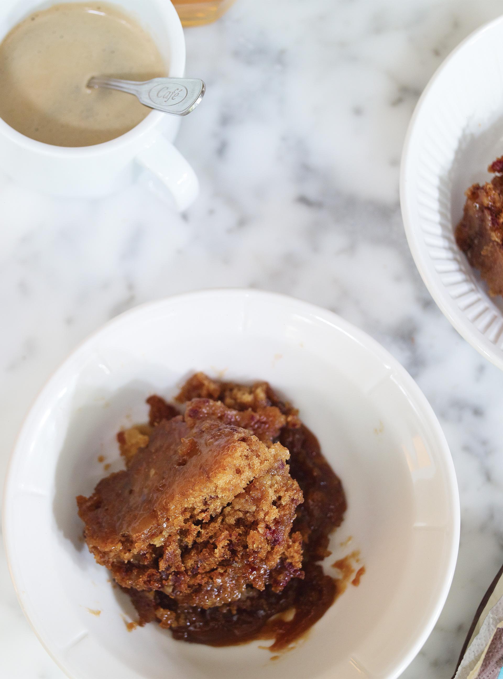 Pouding au caramel sticky toffee pudding | ricardo
