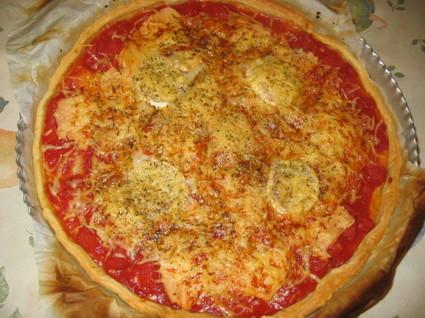 Recette de tarte tomates et chèvre