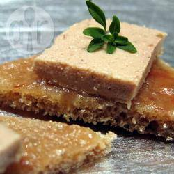Recette foie gras sur brioche et confiture de figues – toutes les ...