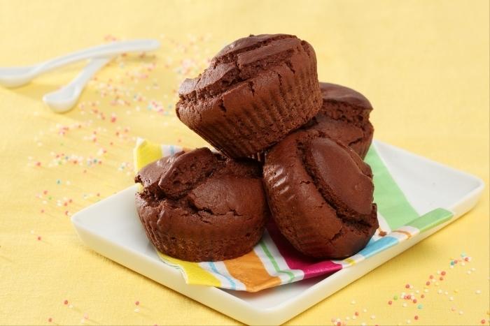 Recette de petits gâteaux au chocolat facile et rapide