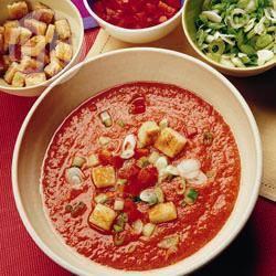 Recette gazpacho andalou – toutes les recettes allrecipes