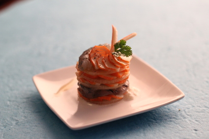 Recette de carpaccio de langoustines et fenouil