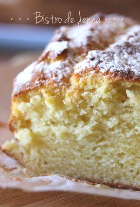 Recette de cake au yaourt saveur vanille