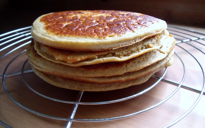 Recette pancakes à 2 ingrédients pas chère et instantané > cuisine ...