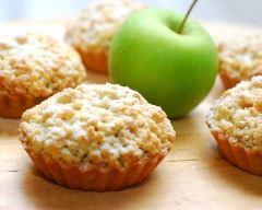 Recette tartelettes crumble à la pomme