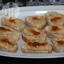 Recette toasts au foie gras et à la confiture de figues – toutes les ...