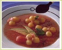 Recette soupe de melons