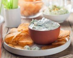 Recette sauce au fromage blanc, ail et fines herbes