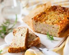 Recette cake au thon et aux courgettes