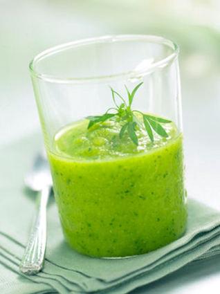 Recette soupe froide de concombres (entrée froide)