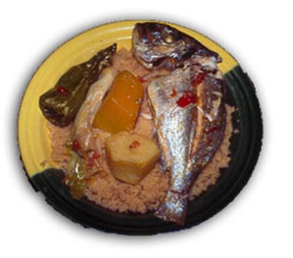 Recette de couscous au poisson
