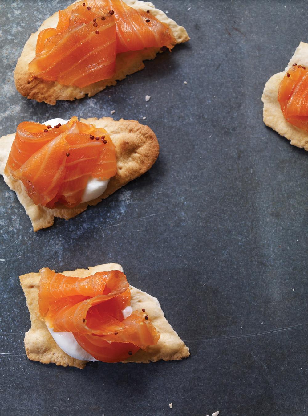 Gravlax de saumon à l'érable | ricardo