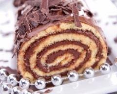Recette bûche au chocolat d'annie