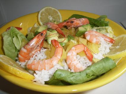 Recette de salade exotique