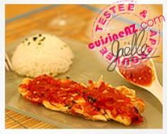 Recette filets de poisson thaï à la tomate et aux épices