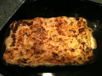 Recette de lasagnes maison au ragoût de boeuf et de veau