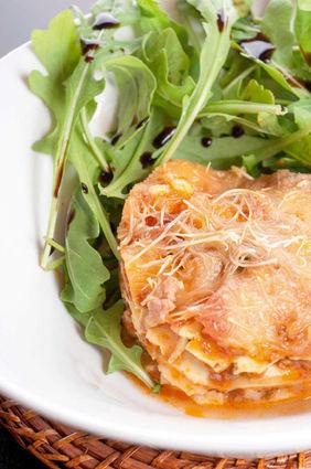 Recette de lasagnes gastronomiques
