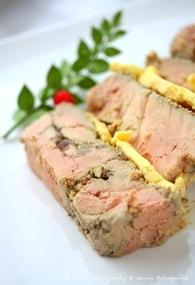 Recette de terrine de foie gras au confit d'oignons et muscat de ...