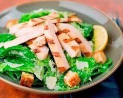 Recette salade au poulet minceur
