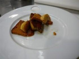 Feuilleté de foie gras poêlé au pain d'épices pour 6 personnes ...