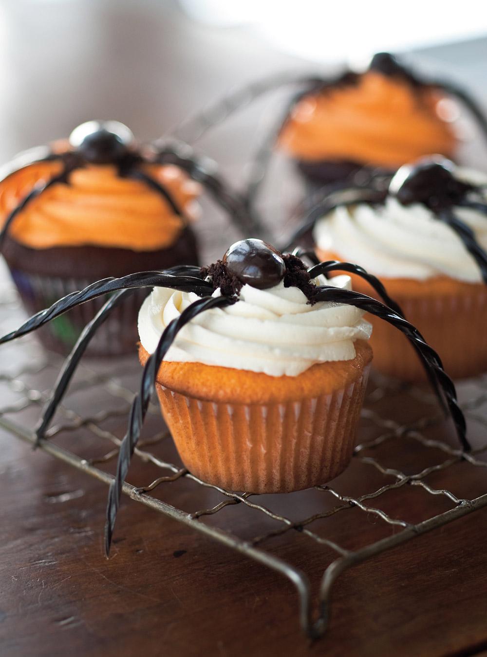 Cupcakes araignée   ricardo