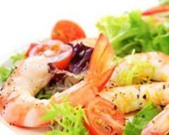 Recette salade de crevettes minceur